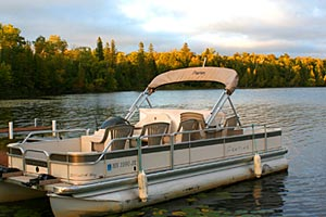 pontoon rental bemidji mn